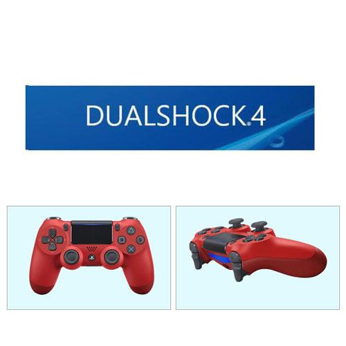소니 PS4 듀얼쇼크4 정품 무선컨트롤러 무선패드 더블쇼크 무선 레드 블루투스 컨트롤러, 1개, 사이즈