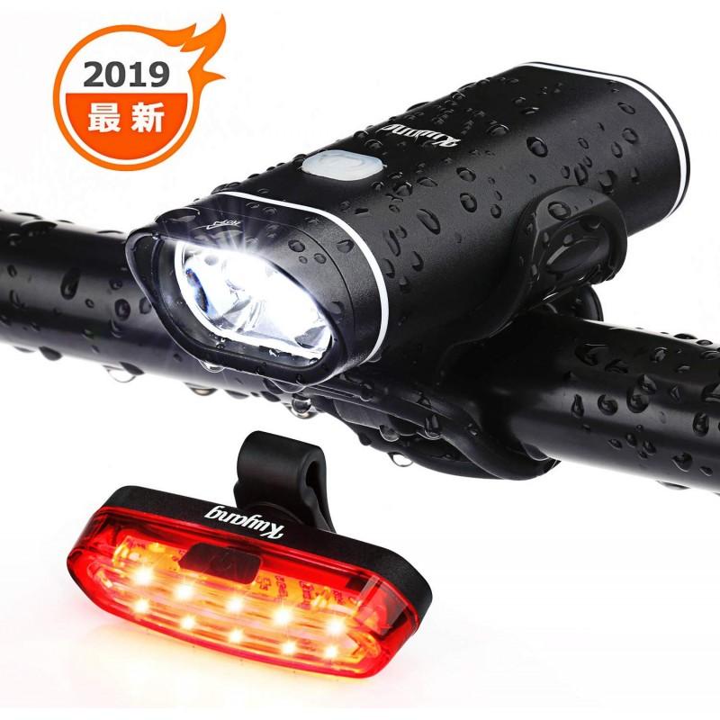 자전거 라이트 USB 충전 테일 라이트 헤드 라이트 led 조명 고휘도 방수 자전거 전조등 2200mAH 대용량