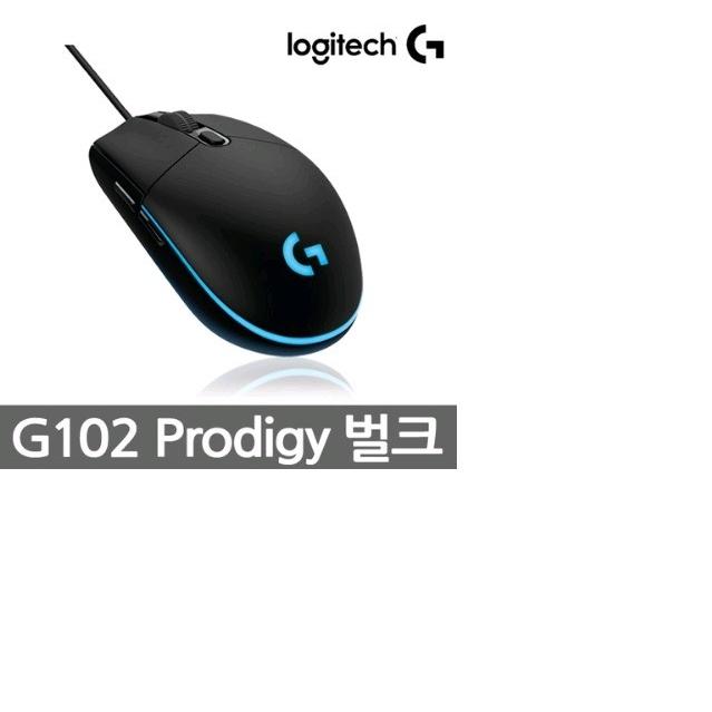 로지텍 G102 PRODIGY 마우스, ONE