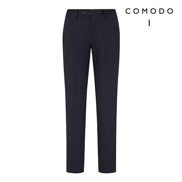 COMODO 코모도 모98 스트라이프 패턴 싱글 수트 팬츠