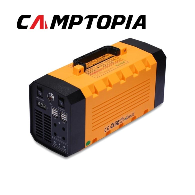캠프토피아 220v 대용량 보조배터리 500w 파워뱅크 UPS 캠핑 12.2만 9.3만 7.7만mAh 순수정현파, CT500C +차량시거잭용 충전기
