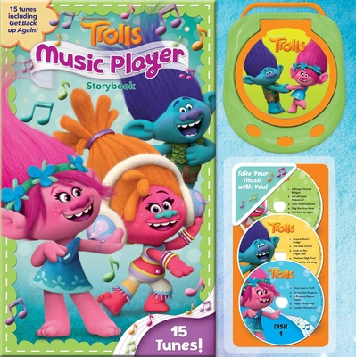 DreamWorks Trolls Music Player Storybook Hardcover, Sfi Readerlink Dist