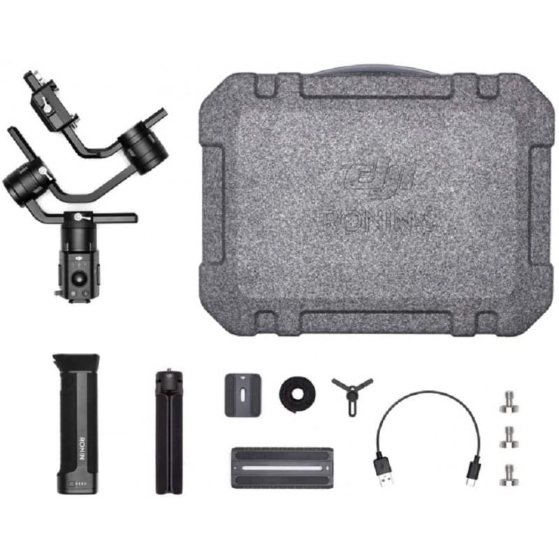 DJI Ronin-S Essentials 키트-DSLR 미러리스 카메라 용 카메라 안정기 3 축 짐벌 핸드 헬드 최대 8lbs / 3.6kg 탑재량 Sony Ni, 단일옵션