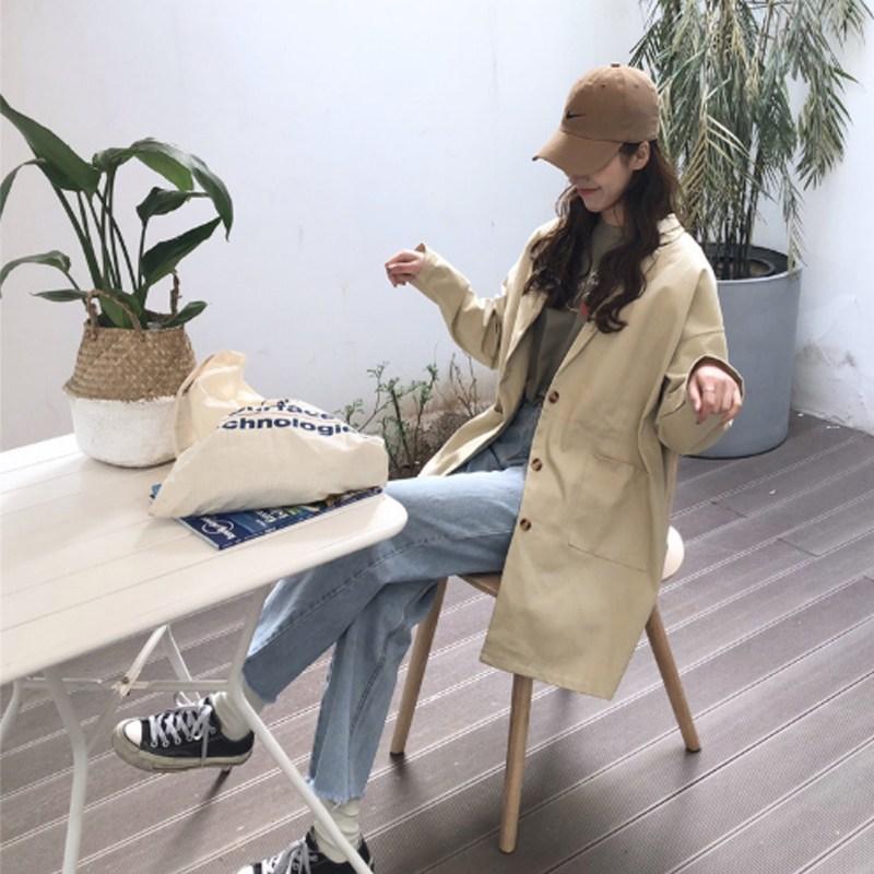 여자 봄신상 캐주얼 트렌치코트 mCFT090