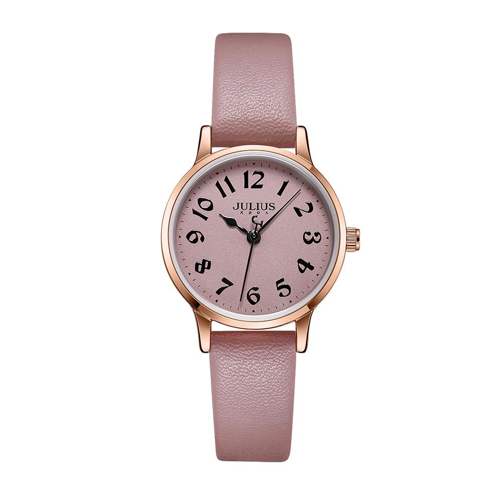 [쥴리어스 본사] 쥴리어스 시계 여자시계 손목시계 여성시계 가죽시계 가죽밴드 여자친구 선물 데일리템 JA-1234-24-5380072452