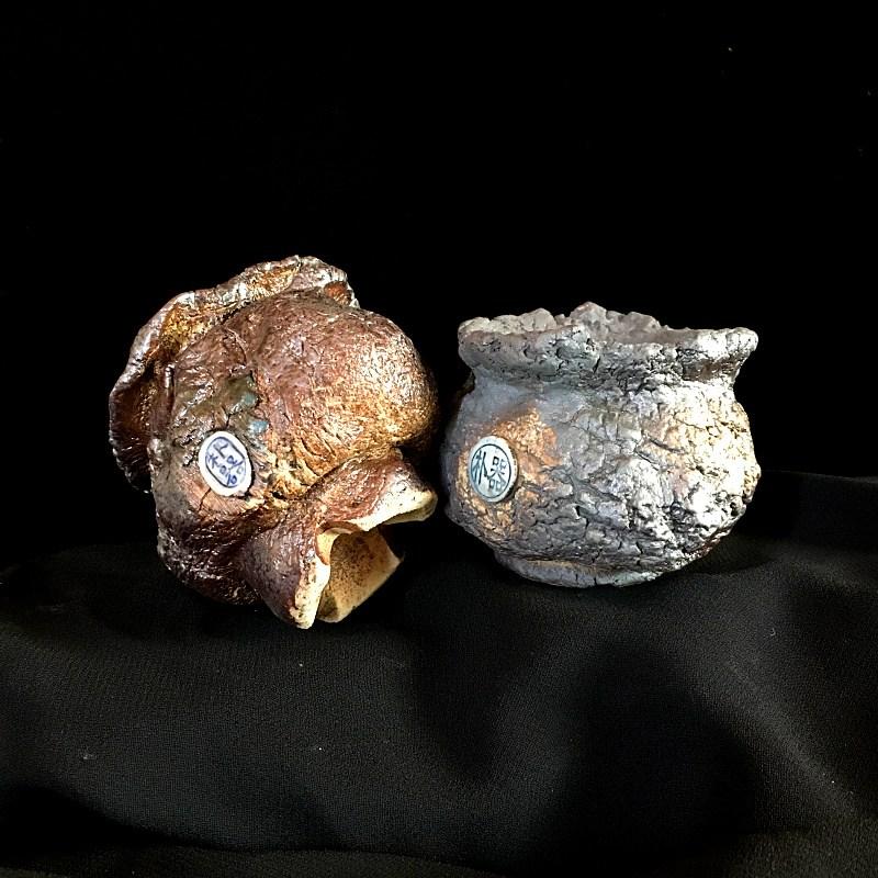 다육 식물 스톤 화초 반려 화산석 현무암판석 돌 화분, ATYPE