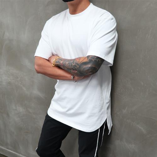 콘피아르 [빠른배송] 환상의핏 레이어드 반팔 티셔츠
