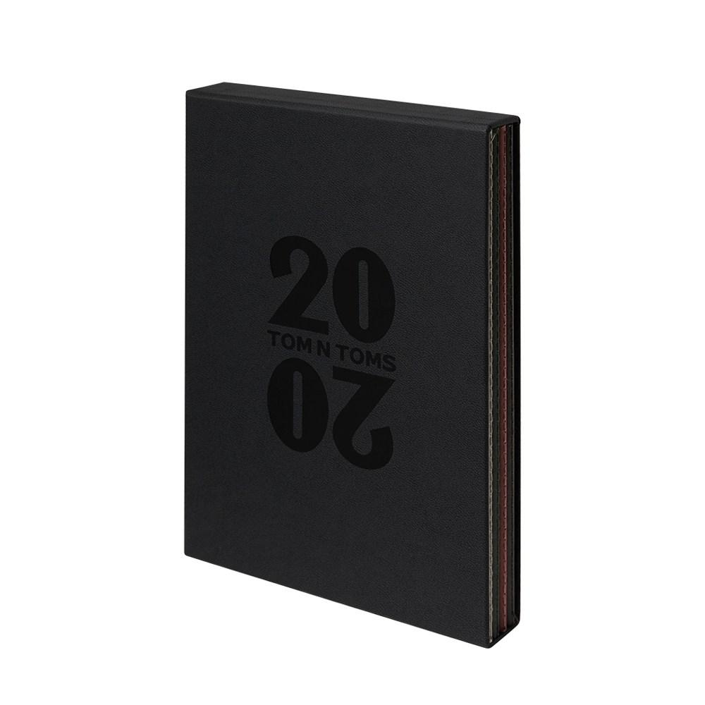 탐앤탐스 2020 플래너 다이어리, 블랙세트