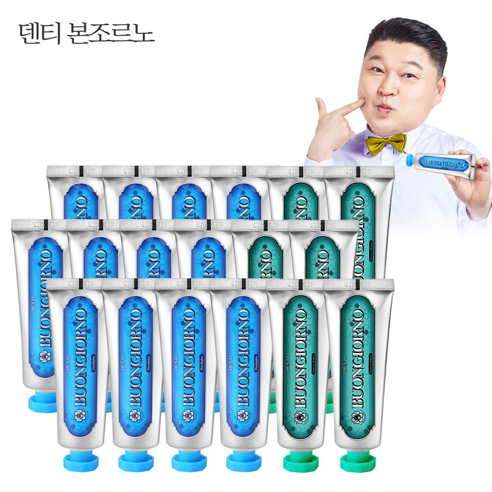 치약SET (치석100g 12개+구취100g 6개), 1set