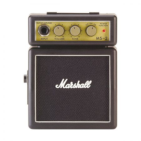 Marshall} description:You can take Marshall tone and vibe with you with the Marshall MS-2 Mini Amp., 상세 설명 참조0