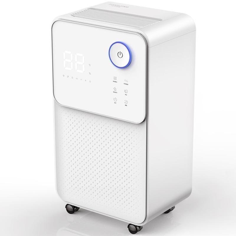 가정용 전기 제습기 터치 LED 다기능 공기 건조기 열 탈수기, 하얀, EU 플러그 (POP 5621488328)