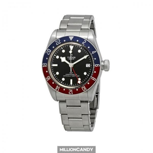 튜더 블랙베이 오토매틱 GMT 검판 펩시 79830RB-0001