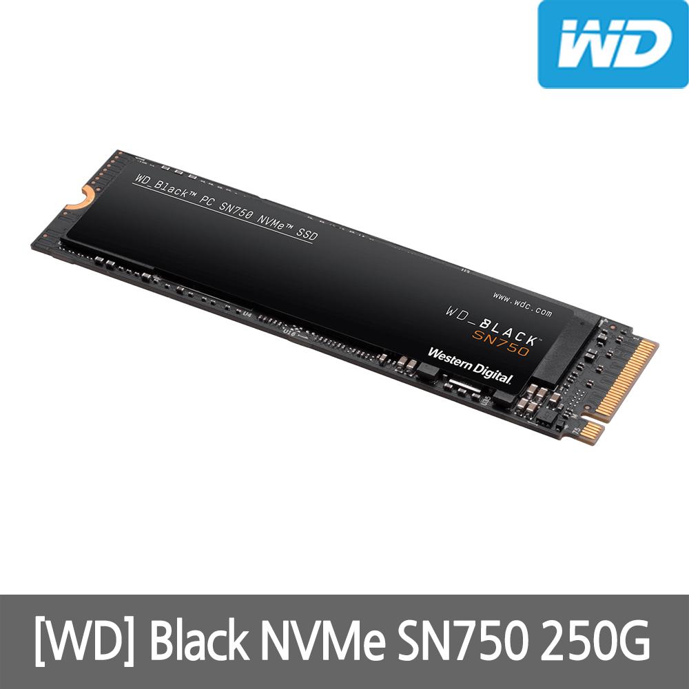 WD Black NVMe SSD 250GB 컴퓨터 하드, 단일상품, 단일상품