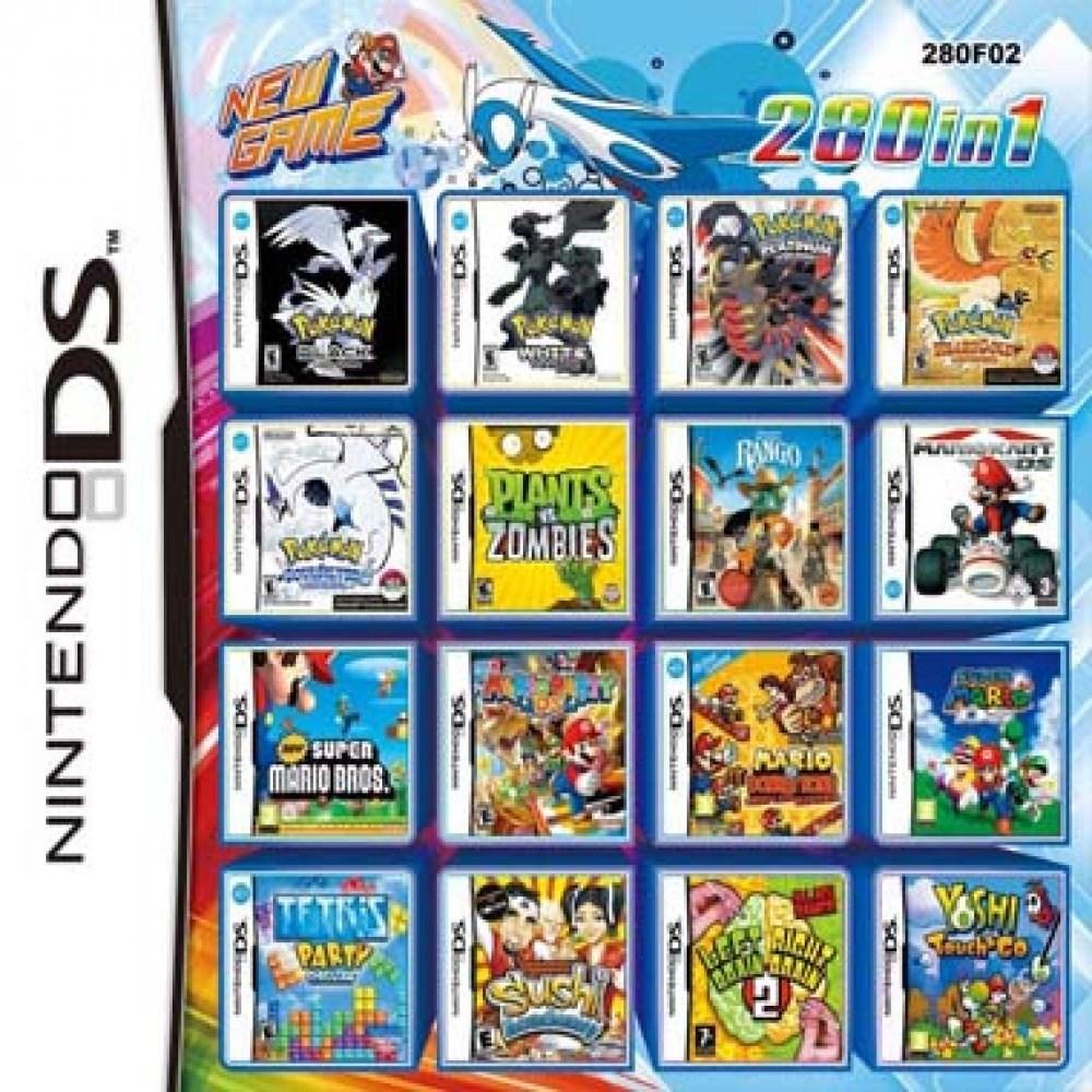 닌텐도 DS 2DS 3DS 2dsxl 3dsxl 280가지합팩13, 280합팩