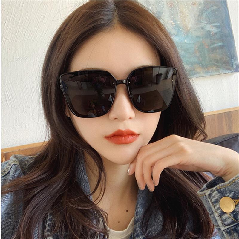 선글라스 여자 보잉 오버사이즈 편광 미러 패션선글라스 칼라 GB0415-16728