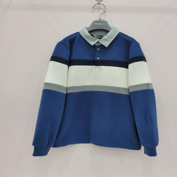 레노마키즈 남아절개배색카라티셔츠