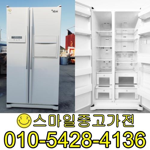 삼성지펠 양문형냉장고 2도어 중고양문형냉장고 이사 공장입주 신혼가전 가성비 최고제품 보유 특가세일중 특가 682리터급, 중고업소용냉장고