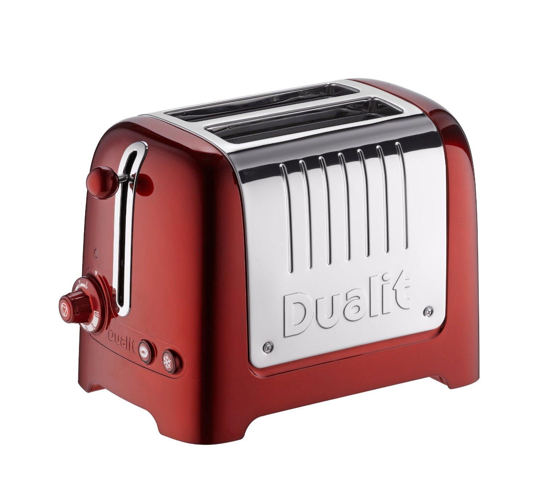 100 % 영국 수입 DUALIT 2 SLOT LITE TOASTER 토스터 토스터 자리, 약 25 일 내에 귀하의 집으로 Toaster UK 다이렉트 메일