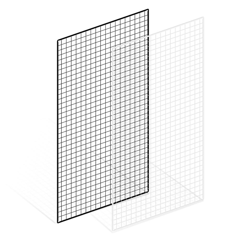 위드금창 메쉬망 900x1800mm 다용도 인테리어 벽선반 휀스망 철망, 900x1800mm 블랙, 1개