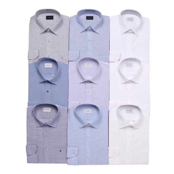 [갤러리아] 예작(YEZAC)예작 여름용 쿨린넨 (일반핏) 긴소매셔츠 13종(YJ0SBR921NY외 12종)