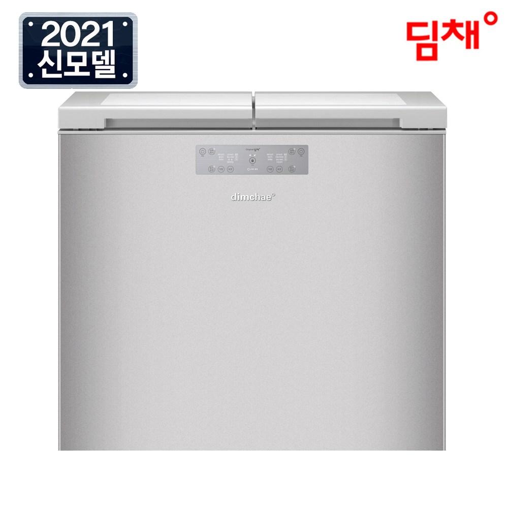 위니아 21년형 딤채 뚜껑형 김치냉장고 EDL22EFWUSS 221리터