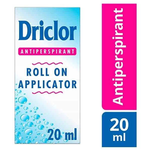 Driclor Solution RollOn Applicator 20 ml