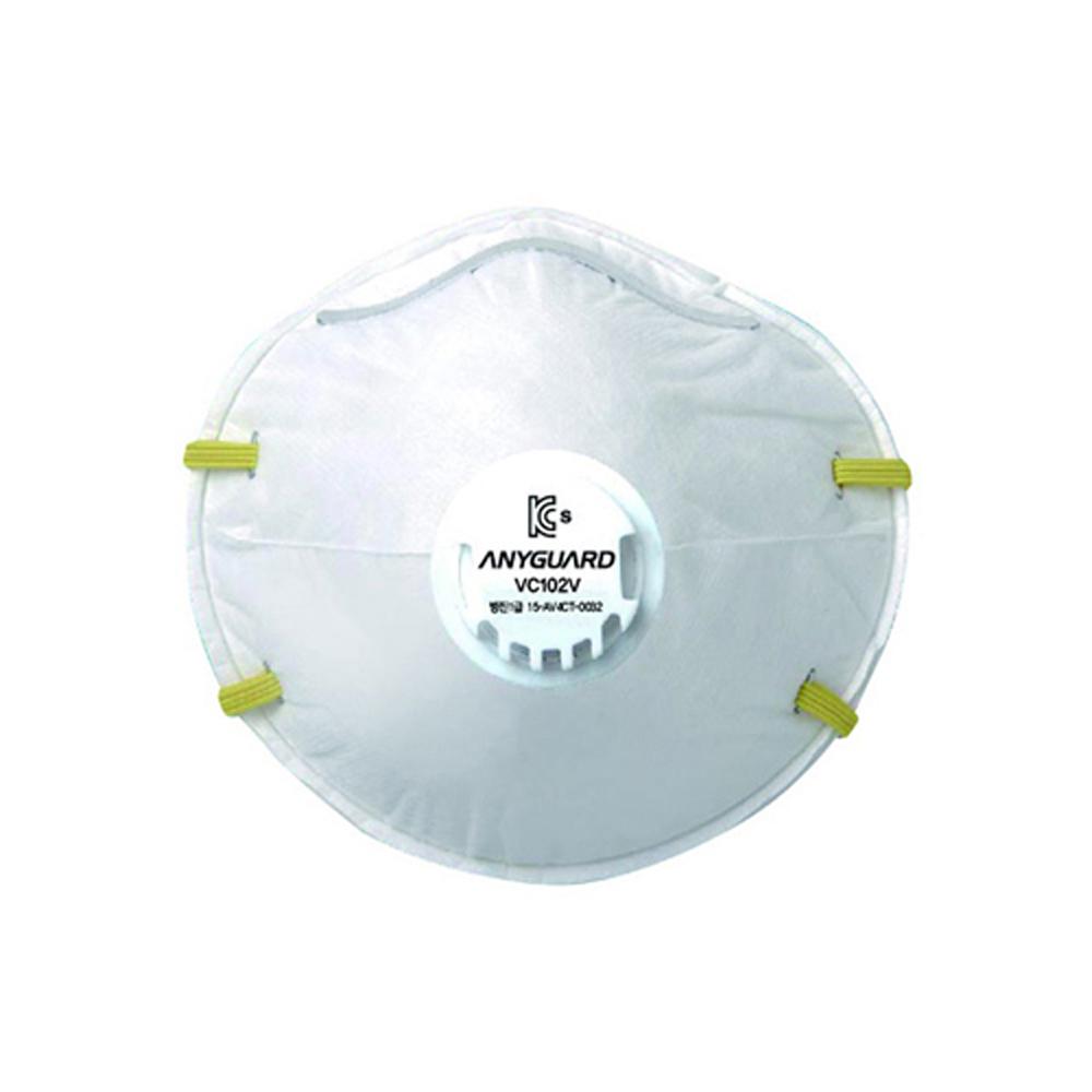 애니가드 애니세이프 방진마스크 VC102V 1각당 10매, 단품