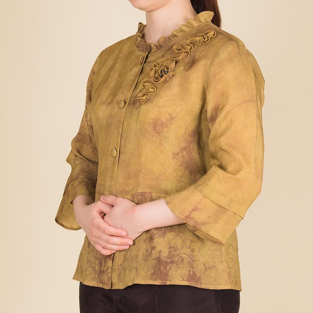 다오네우리옷 여자-손염 장미 인견블라우스 생활한복(개량한복) (POP 116629716)
