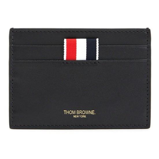 톰브라운 삼선탭 FAW035A 06549 001 공용 명함/카드지갑