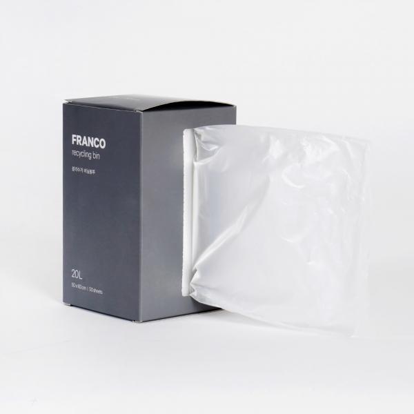 프랑코 분리수거 비닐봉투10L (50매)