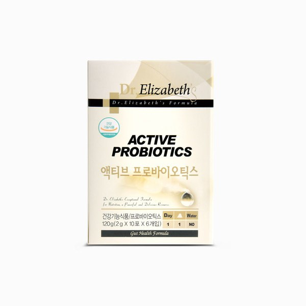 닥터엘리자베스 액티브 프로바이오틱스 60포, 단일|상품