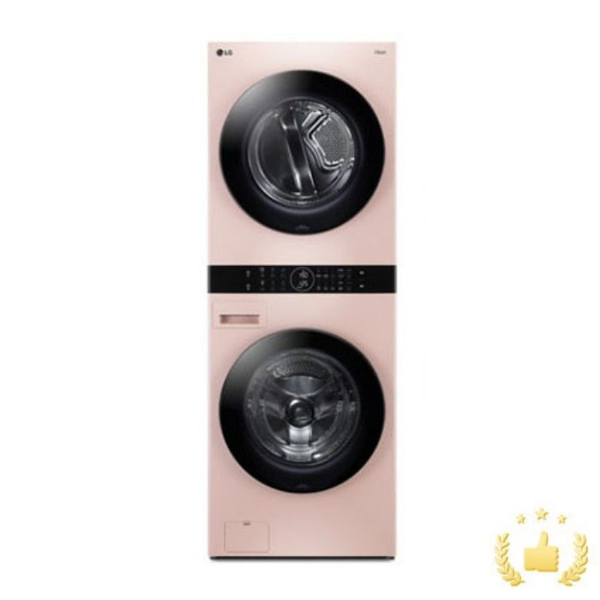 LG전자 워시타워 오브제컬렉션 W16PP [세탁기24KG+건조기16KG/네이처핑크], 단품