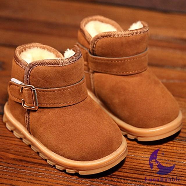 루나버블 벨트 털부츠 2color 130~170 아동 어린이 남아 여아 유아 방한화 겨울 신발 부츠