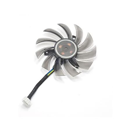 inRobert 75mm T128010SU Graphic Card Fan Replacement Cooler for Gigabyte NVIDIA GeForce GTX 760 770, 상세 설명 참조0