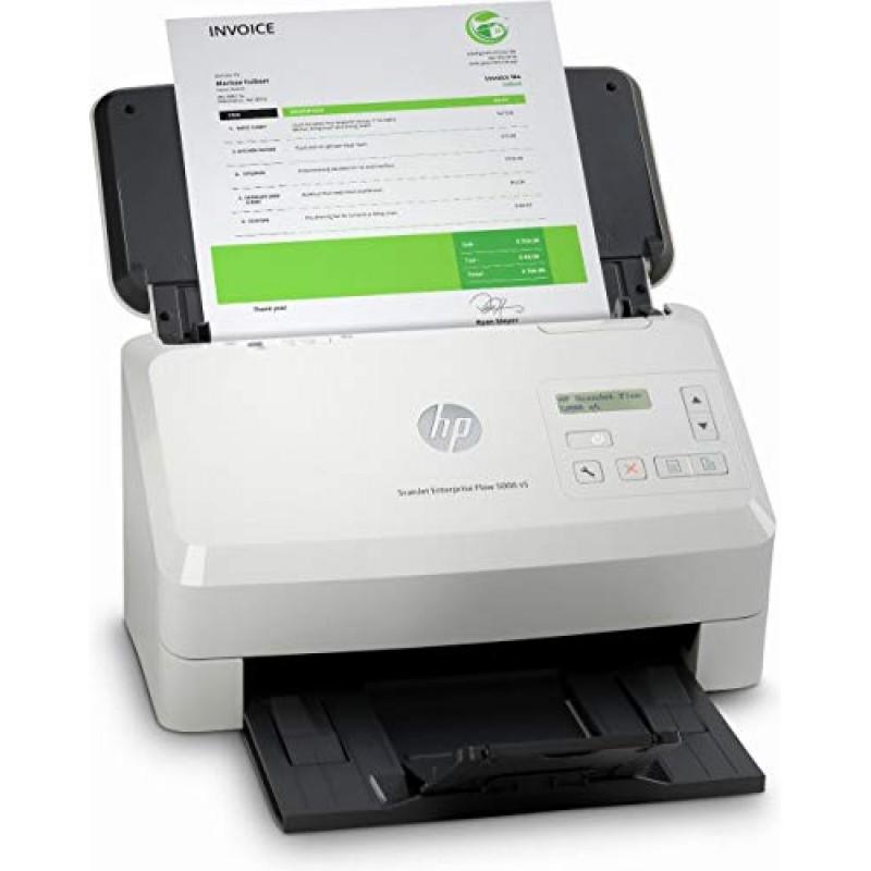 HP ScanJet Enterprise Flow 5000 s5 (스캐너 낱장 공급 80 매 ADF USB), 단일옵션