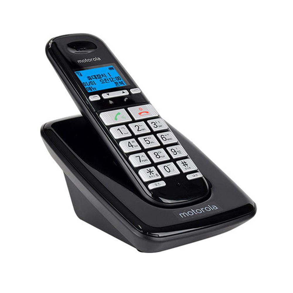 모토로라 무선전화기, S3001A블랙