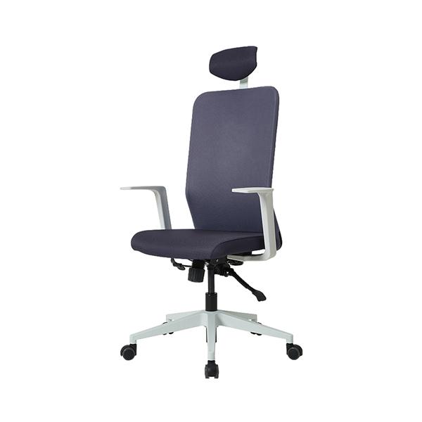 듀오백 Q1W 메쉬의자 컴퓨터의자 책상의자 사무용의자 본사직영, 블랙