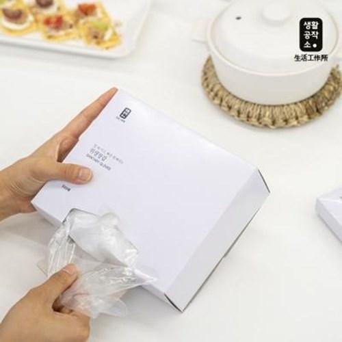 아트박스/생활공작소 위생장갑 500매 1개 + 세손가락 위생장갑 200매 1개, 본품
