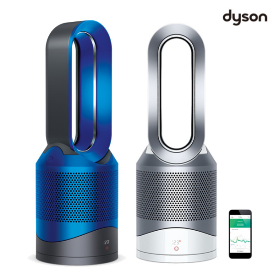 [K쇼핑]다이슨 IOT 공기청정 핫앤쿨 선풍기 온풍기 HP03, 블루