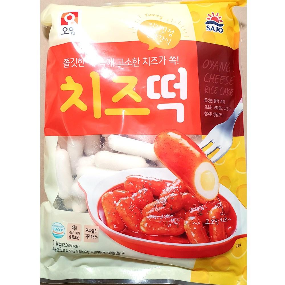 월드킹식자재 치즈떡(오양 1K) | 순대 석관동떡볶이, 1