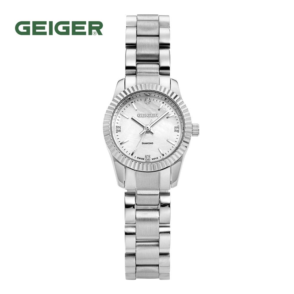 가이거[GEIGER] [백화점 정품] 가이거 여성 게르마늄 쥬얼 다이아 워치 GE1175WT (23mm)