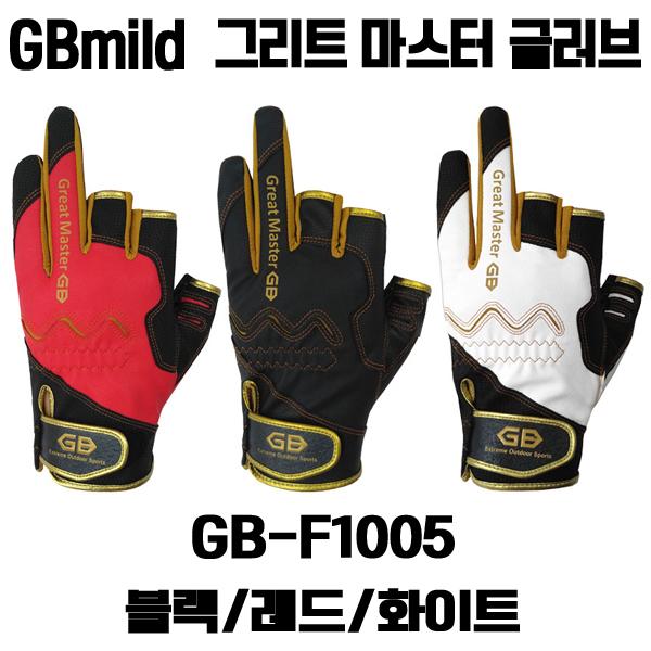 완승물산 나라샵 GB-F1005 그리트 마스터 낚시장갑 글러브, 화이트