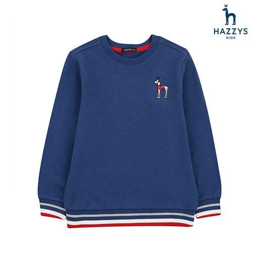 헤지스키즈 남아 베이직 싱글 티셔츠 HOW10TM01M BU
