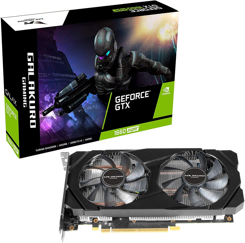 3.예상수령일 2-6일 이내 전문가 지향 NVIDIA GeForce GTX 1660Super 탑재 그래픽 카드 6GB 듀얼 팬 GALAK, 상세 설명 참조0