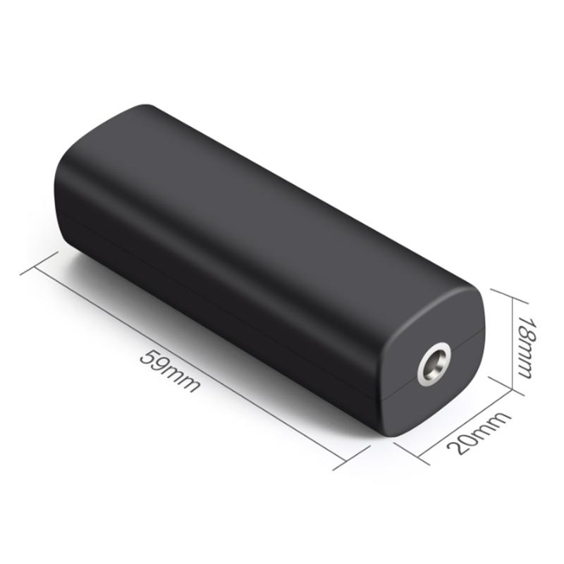차량용AV노이즈필터 자동차 3.5mm차량용 스피커 음성 교란차단 격리 기계 AUX소음, 단일상품개