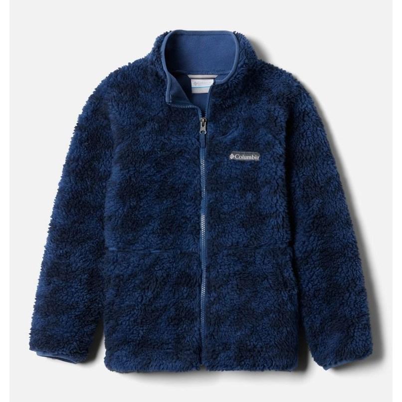 컬럼비아 프리미엄 후리스 자켓 윈터 양털 셰르파 플리스 Winter Pass Printed Sherpa Full Zip Fleece Jacket