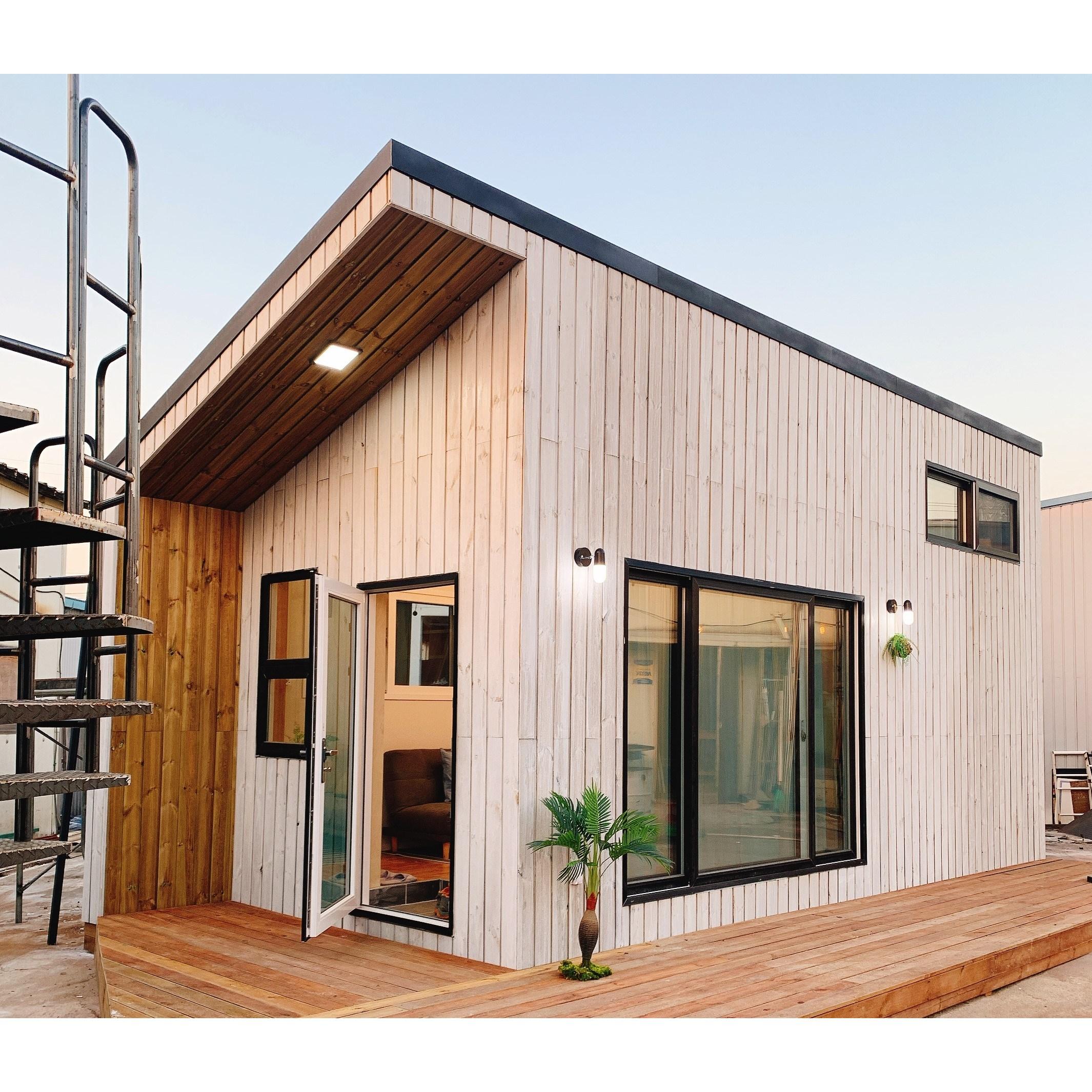 [SD건축] 이동식주택 소형주택 목조주택 모듈러하우스 복층형목조주택 #소담원(기본형) 기본에충실하다