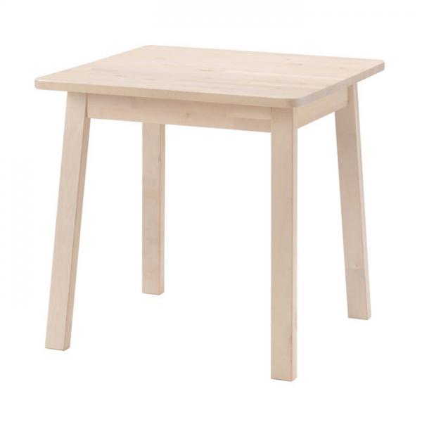 이케아 NORRAKER 테이블/식탁/책상, 화이트자작나무_503.624.66