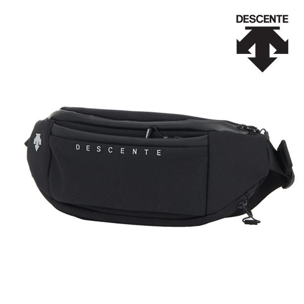 데상트 데상트가방 데상트힙색 공용 가로형 힙색 M S9323RBG71 BLK, 상세페이지참조