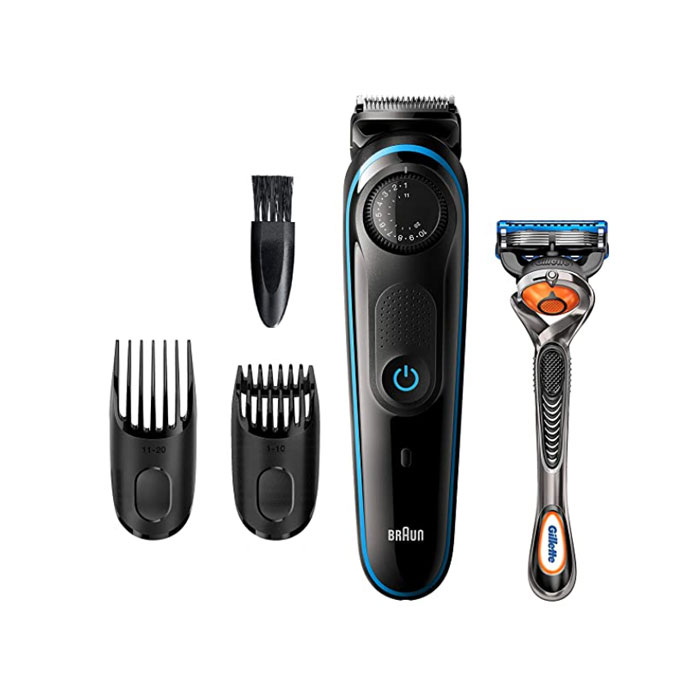 Braun 브라운 전기면도기 수염 트리머 쉐이버 Braun BT3240 Beard Trimmer Cordless Hair Clipper, 옵션없음, 옵션없음
